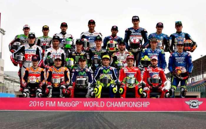 Parrilla MotoGP 2017