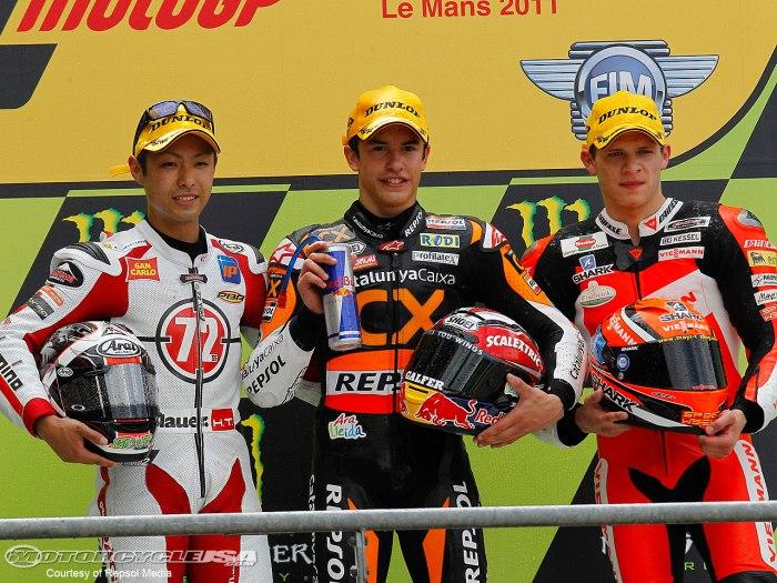 Moto2-Le-Mans-podium